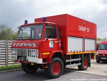 Véhicule pour interventions en milieu périlleux, Sapeurs-pompiers, Meuse (55)