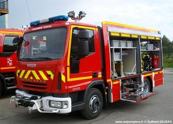 Véhicule de secours routier, Sapeurs-pompiers, Hérault (34)