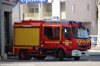 Fourgon-pompe tonne léger, Sapeurs-pompiers, Pyrénées-Orientales (66)