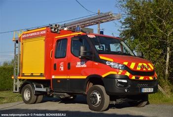 Véhicule de première intervention, Sapeurs-pompiers, Indre