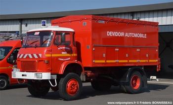 Dévidoir automobile, Sapeurs-pompiers, Indre (36)