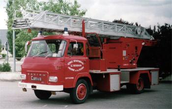 Echelle pivotante, Sapeurs-pompiers, Morbihan (56)
