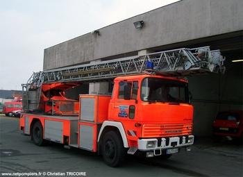 Echelle pivotante, Sapeurs-pompiers, Maine-et-Loire (49)