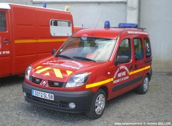 Véhicule radio médicalisé, Sapeurs-pompiers, Nièvre (58)