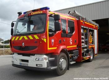 Fourgon-pompe tonne secours routier, Sapeurs-pompiers, Manche (50)