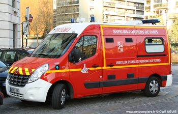 <h2>Véhicule de secours et d'assistance aux victimes - Paris -  ()</h2>