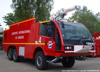 Véhicule pour interventions aéroportuaires, Service de sauvetage et de lutte contre l'incendie des aéronefs, Haute-Vienne