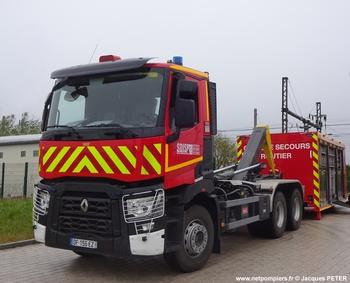 Véhicule porte-cellule, Sapeurs-pompiers, Haut-Rhin (68)