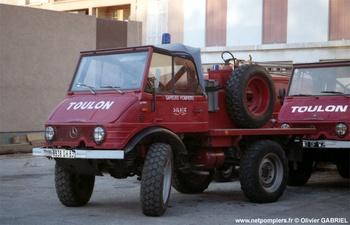Camion-citerne pour feux de forêts léger, Sapeurs-pompiers, Var (83)