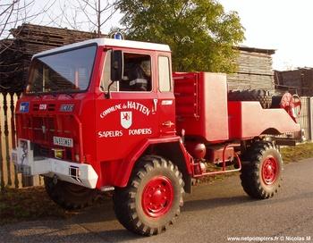 <h2>Camion-citerne pour feux de forêts - Hatten - Bas-Rhin (67)</h2>
