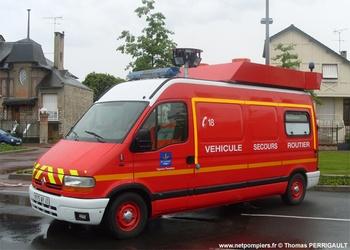 Véhicule de secours routier, Sapeurs-pompiers, Loiret