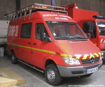 Véhicule pour interventions en milieu périlleux, Sapeurs-pompiers, Gard