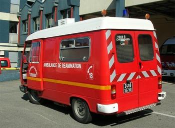 <h2>Ambulance de réanimation - Cherbourg - Manche (50)</h2>