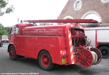 Camion-citerne d'incendie, Sapeurs-pompiers, Pas-de-Calais (62)