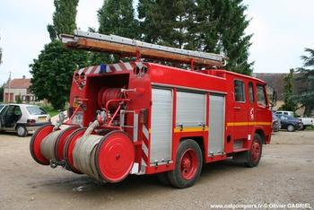 Fourgon-pompe tonne, Sapeurs-pompiers, Yonne (89)