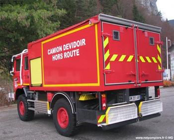 Dévidoir automobile, Sapeurs-pompiers, Haute-Savoie (74)