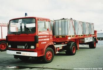 Véhicule tracteur, Sapeurs-pompiers, Finistère (29)