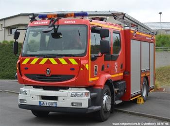 <h2>Fourgon-pompe tonne secours routier - Quettreville-sur-Sienne - Manche (50)</h2>
