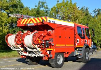 Camion-citerne rural, Sapeurs-pompiers, Gers (32)