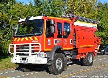 Camion-citerne rural, Sapeurs-pompiers, Gers