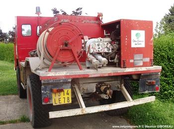 Camion-citerne pour feux de forêts, Défense des forêts contre les incendies, Yvelines (78)