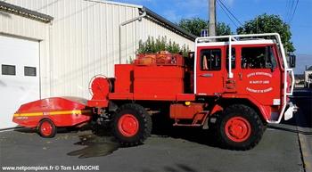 <h2>Camion-citerne pour feux de forêts - Champ-sur-Layon - Maine-et-Loire (49)</h2>