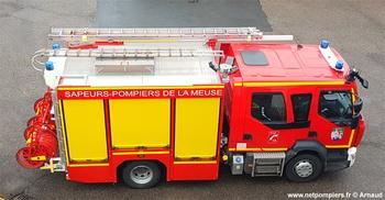 <h2>Fourgon-pompe tonne - Verdun - Meuse (55)</h2>