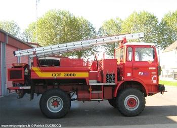 Camion-citerne pour feux de forêts, Sapeurs-pompiers, Saône-et-Loire (71)