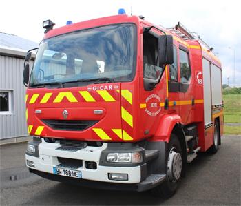 Fourgon-pompe tonne, Sapeurs-pompiers, Nièvre (58)