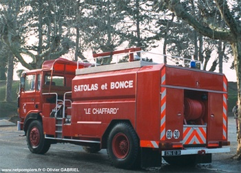 <h2>Camion-citerne d'incendie - Satolas-et-Bonce - Isère (38)</h2>