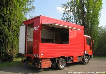 Véhicule de logistique alimentaire, Sapeurs-pompiers, Ardèche (07)