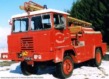 Camion-citerne pour feux de forêts, Sapeurs-pompiers, Cantal (15)
