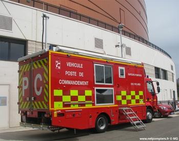 Véhicule poste de commandement, Sapeurs-pompiers, Yvelines