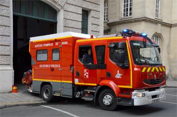 Premier secours, Sapeurs-pompiers de Paris,