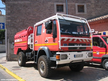 Camion-citerne pour feux de forêts, Sapeurs-pompiers, Var (83)