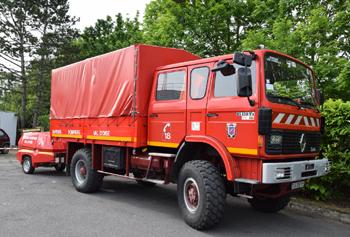 Dévidoir automobile, Sapeurs-pompiers, Val-d'Oise (95)