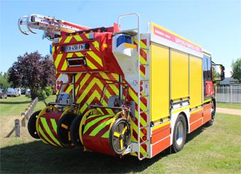 Fourgon-pompe tonne secours routier, Sapeurs-pompiers, Loiret
