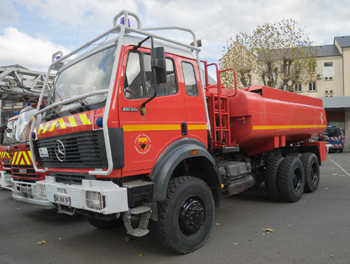 <h2>Camion-citerne pour feux de forêts - Mende - Lozère (48)</h2>