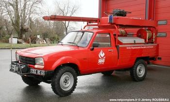 Véhicule de première intervention, Sapeurs-pompiers, Orne (61)