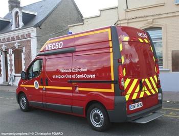 Véhicule d'extinction spécialisée, Sapeurs-pompiers, Somme (80)
