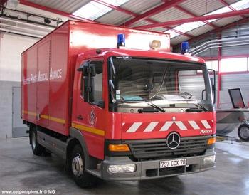 Véhicule poste médical avancé, Sapeurs-pompiers, Yvelines (78)