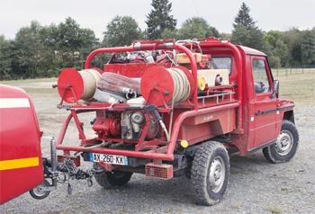 Véhicule de première intervention, Sapeurs-pompiers, Creuse (23)