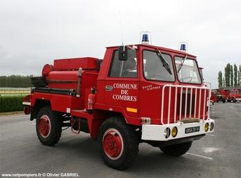 Camion-citerne pour feux de forêts, Sapeurs-pompiers, Eure-et-Loir (28)