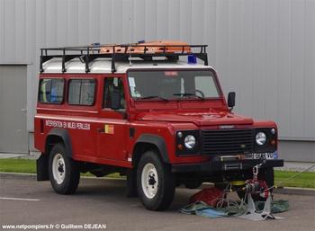 Véhicule pour interventions en milieu périlleux, Sapeurs-pompiers, Oise (60)