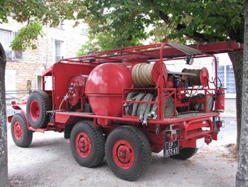 Camion-citerne pour feux de forêts, Sapeurs-pompiers, Côte-d'Or