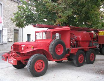 Camion-citerne pour feux de forêts, Sapeurs-pompiers, Côte-d'Or (21)