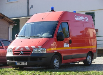 Véhicule pour interventions en milieu périlleux, Sapeurs-pompiers, Gironde (33)