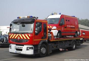 Véhicule porte-engin, Sapeurs-pompiers, Nord (59)