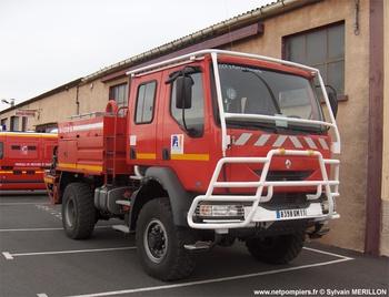 Camion-citerne pour feux de forêts, Sapeurs-pompiers, Aude (11)