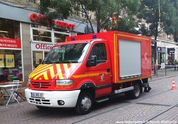 Véhicule d'assistance respiratoire, Sapeurs-pompiers, Bas-Rhin (67)
